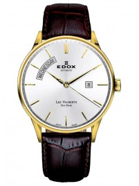 Edox Les Vauberts Day Date Automatic 83010 37J AID watch image