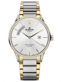 Edox Les Vauberts Day Date Automatic 83011 357J AID watch image