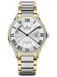 Edox Les Vauberts Day Date Automatic 83011 357J AR watch image