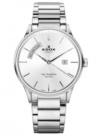Edox Les Vauberts Day Date Automatic 83011 3B AIN watch image