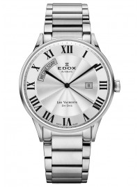Edox Les Vauberts Day Date Automatic 83011 3B AR watch image