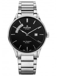 Edox Les Vauberts Day Date Automatic 83011 3N NIN watch image