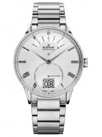 Edox Les Vauberts Day Retrograde Big Date 34006 3A AR watch image