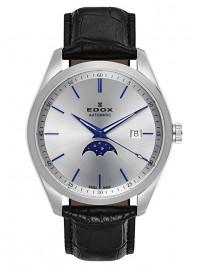 Edox Les Vauberts Mondphase Date Automatic 80505 3 AIBU watch image