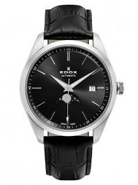 Edox Les Vauberts Mondphase Date Automatic 80505 3 NIN watch image