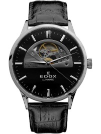 Edox Les Vauberts Open Heart Automatic 85014 3 NIN watch image