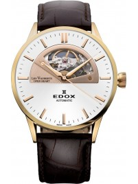 Edox Les Vauberts Open Heart Automatic 85014 37R AIR watch image
