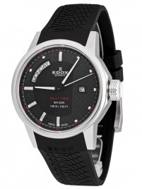 Edox Rally Timer DayDate 83008 3 NIN watch image