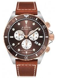Edox SkyDiver 70s Chronograph Date Quarz 10238 357RBRC BRIA watch image
