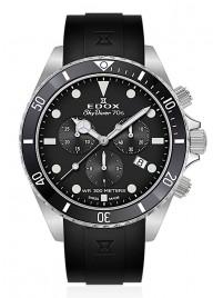 Edox SkyDiver 70s Chronograph Date Quarz 10238 3NCA NI watch image