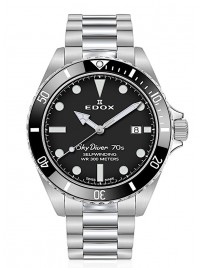 Edox SkyDiver 70s Date Automatic 80115 3N1M NN watch image