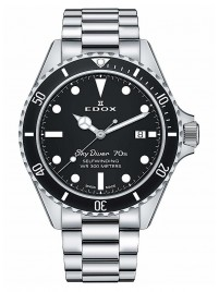 Edox SkyDiver 70s Date Date Automatic 80112 3NM NI watch image