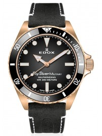 Image of Edox SkyDiver Military Bronze Limited Edition Automatic 80115 BRZN NDR watch