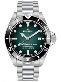 Image of Edox SkyDiver Military Limited Edition Date Automatic 80115 3N VD watch