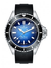 Edox SkyDiver Neptunian Date Automatic 80120 3NCA BUIDN watch image