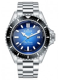 Edox SkyDiver Neptunian Date Automatic 80120 3NM BUIDN watch image