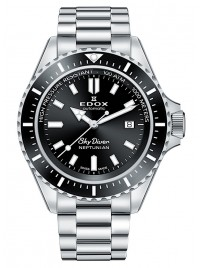 Edox SkyDiver Neptunian Date Automatic 80120 3NM NIN watch image