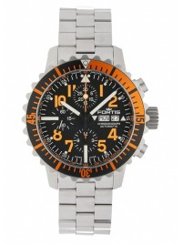 Fortis Aquatis Marinemaster Automatic Chronograph Orange 671.19.49 M watch image