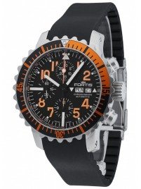 Fortis Aquatis Marinemaster Chronograph Orange 671.19.49 K watch image