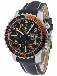 Fortis Aquatis Marinemaster Chronograph Orange 671.19.49 L.01 watch image