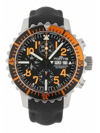 Fortis Aquatis Marinemaster Chronograph Orange 671.19.49 LP watch image