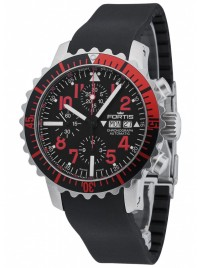 Fortis Aquatis Marinemaster Chronograph Red 671.23.43 K watch image