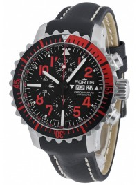 Fortis Aquatis Marinemaster Chronograph Red 671.23.43 L.01 watch image