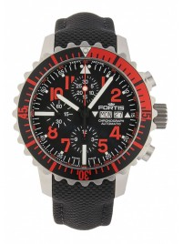 Fortis Aquatis Marinemaster Chronograph Rot 671.23.43 LP watch image