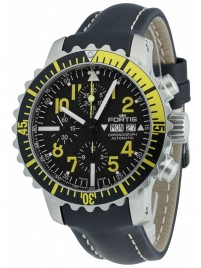 Fortis Aquatis Marinemaster Chronograph Yellow 671.24.14 L.01 watch image