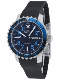 Fortis Aquatis Marinemaster DayDate Blue 670.15.45 K watch image