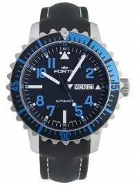 Fortis Aquatis Marinemaster DayDate Blue 670.15.45 L.01 watch image