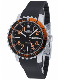 Fortis Aquatis Marinemaster DayDate Orange 670.19.49 K watch image