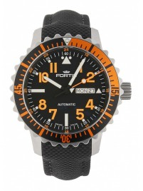 Fortis Aquatis Marinemaster DayDate Orange 670.19.49 LP watch image