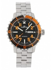 Fortis Aquatis Marinemaster DayDate Orange 670.19.49 M watch image