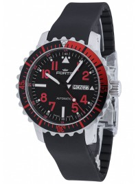 Fortis Aquatis Marinemaster DayDate Red 670.23.43 K watch image