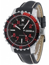 Fortis Aquatis Marinemaster DayDate Red 670.23.43 L.01 watch image