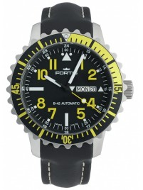 Fortis Aquatis Marinemaster DayDate Yellow 670.24.14 L.01 watch image