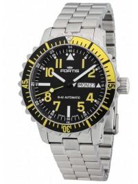 Fortis Aquatis Marinemaster DayDate Yellow 670.24.14 M watch image