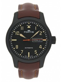 Fortis Aviatis Aeromaster Stealth 655.18.18 L.18 watch image