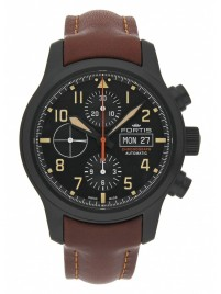 Fortis Aviatis Aeromaster Stealth Chronograph 656.18.18 L.18 watch image