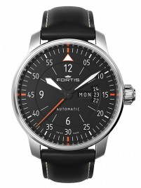 Fortis Aviatis Cockpit Two 704.21.19 L.01 watch image
