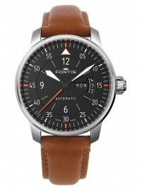 Fortis Aviatis Cockpit Two 704.21.19 L.28 watch image