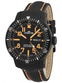 Fortis B42 Black Mars 500 DayDate 647.28.13 L.13 Limited Edition watch image