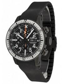 Fortis B42 Black Titanium Carbon Dial Chronograph 638.28.61 K watch image