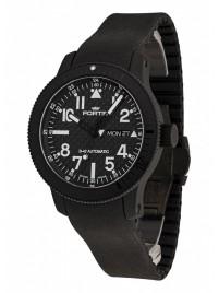 Fortis B42 Black Titanium Carbon Dial DayDate 647.28.51 K watch image