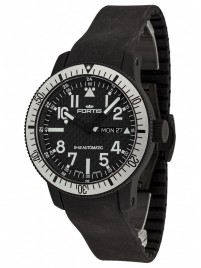 Fortis B42 Black Titanium Carbon Dial DayDate 647.28.61 K watch image