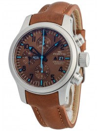 Fortis B42 Blue Horizon Chronograph Limited Edition 656.10.95 L.28 watch image