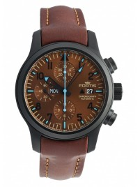 Fortis B42 Blue Horizon Chronograph PVD Limited Edition 656.18.95 L.18 watch image