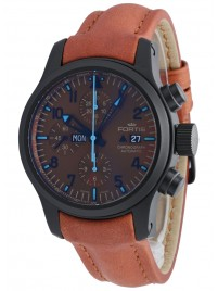 Fortis B42 Blue Horizon Chronograph PVD Limited Edition 656.18.95 L.38 watch image