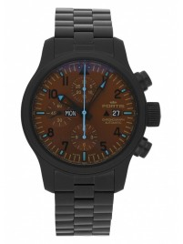 Fortis B42 Blue Horizon Chronograph PVD Limited Edition 656.18.95 M watch image